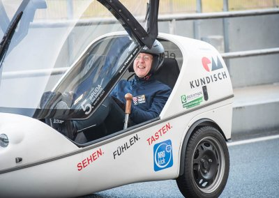 Eco Grand Prix electric car race